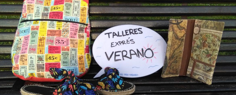 TALLERES VERANO 2018