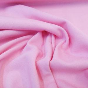 Tela de sudadera rosa