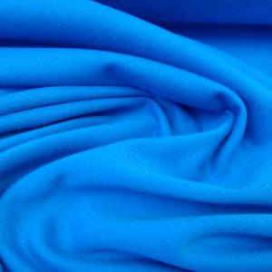 tela de sudadera azul