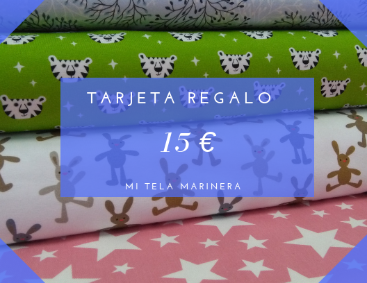 Tarjeta regalo 15€