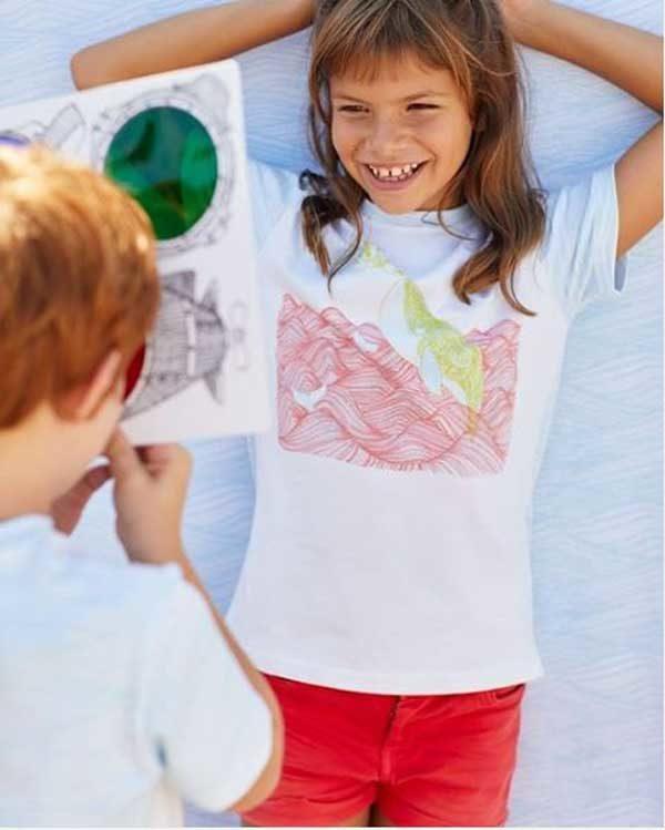 Panel camiseta mágica de Katia Fabrics