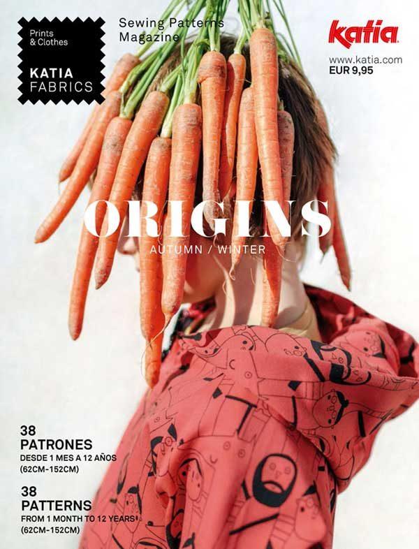 Revista Katia Fabrics. Origins.