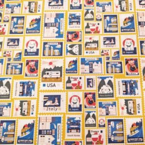 Tela sellos de algodón
