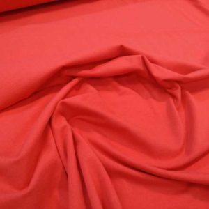 Punto de camiseta color rojo