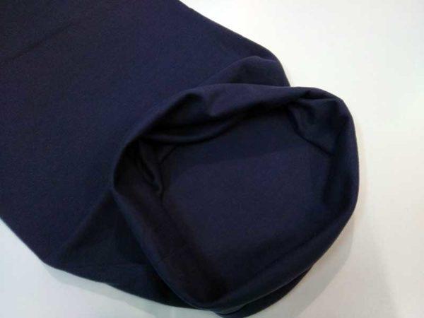 Punto tubular azul marino