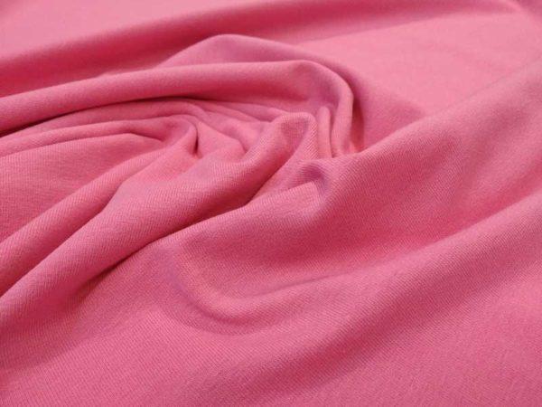 Punto de camiseta color rosa
