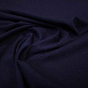 Punto liso tipo camiseta azul marino