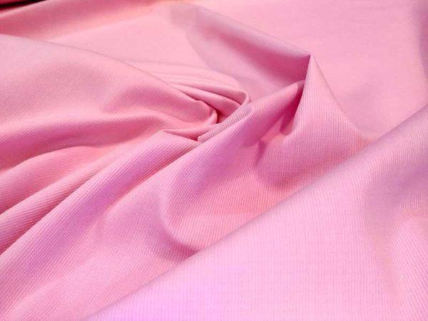 Piqué de canutillo color rosa