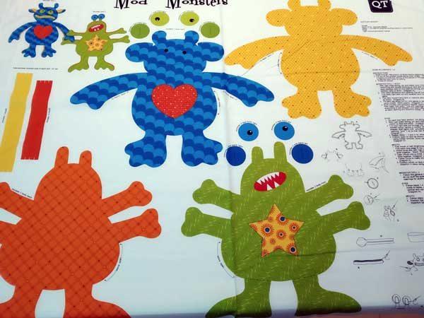 Panel Monstruos