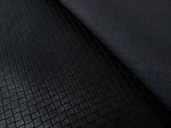 Napa labrada sintética en color negro