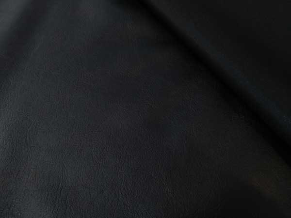Napa sintética de confección en color negro